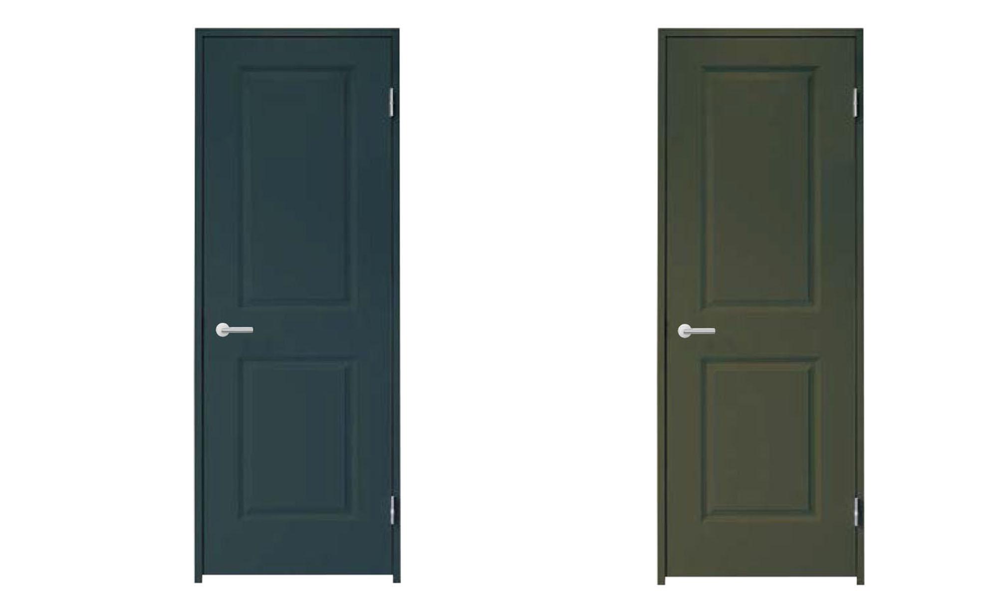 室内建具 集成無垢単板貼りドア