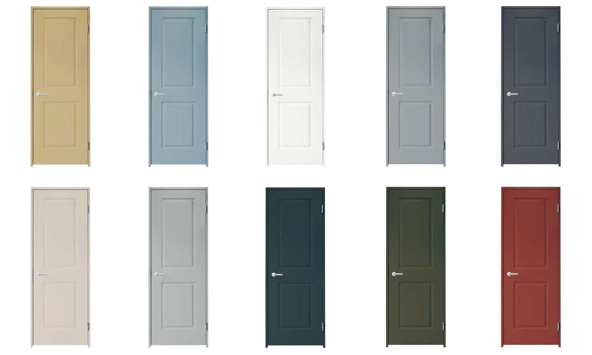 室内建具1F 集成無垢単板貼りドア ※色選択可