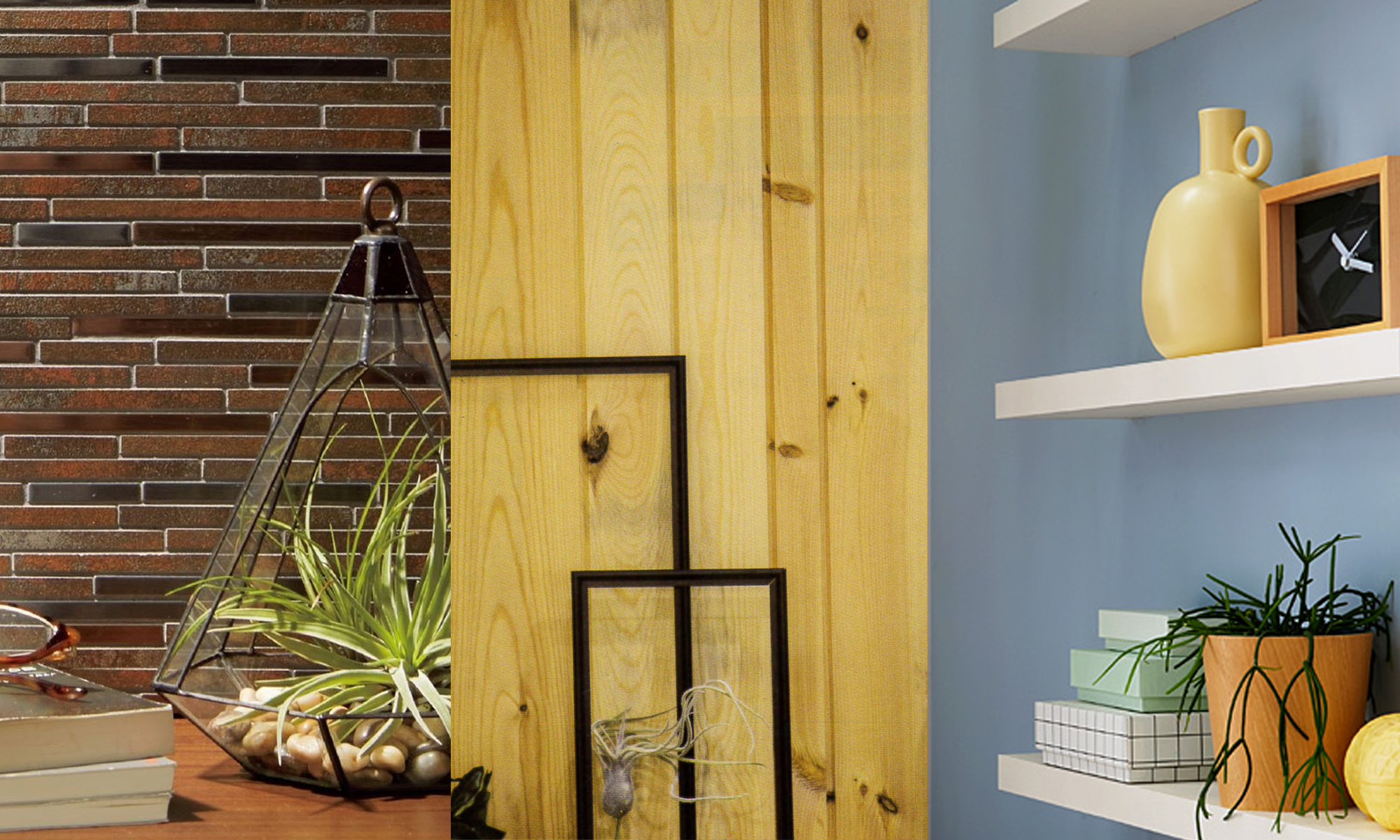 アクセントウォール‗レンガ調・石壁調・ウッドパネル・塗り壁 ※色選択可